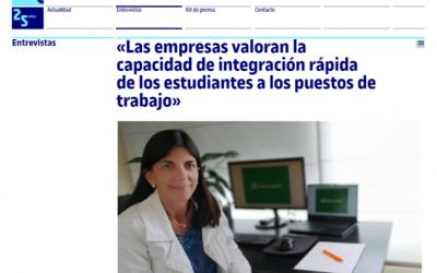 ENTREVISTA con la UOC Universitat Oberta de Catalunya